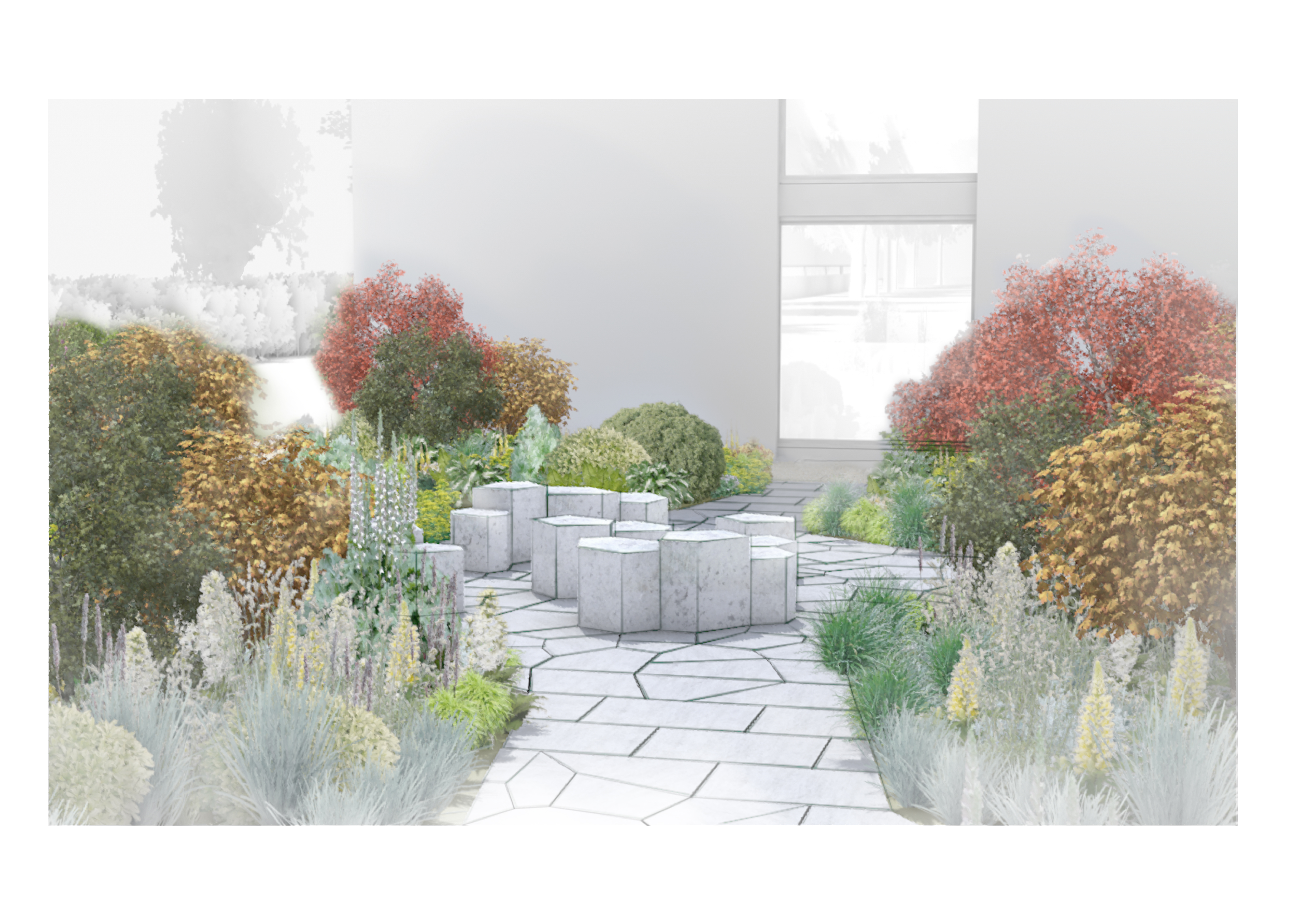 Commission – Dulwich College Memorial Garden
