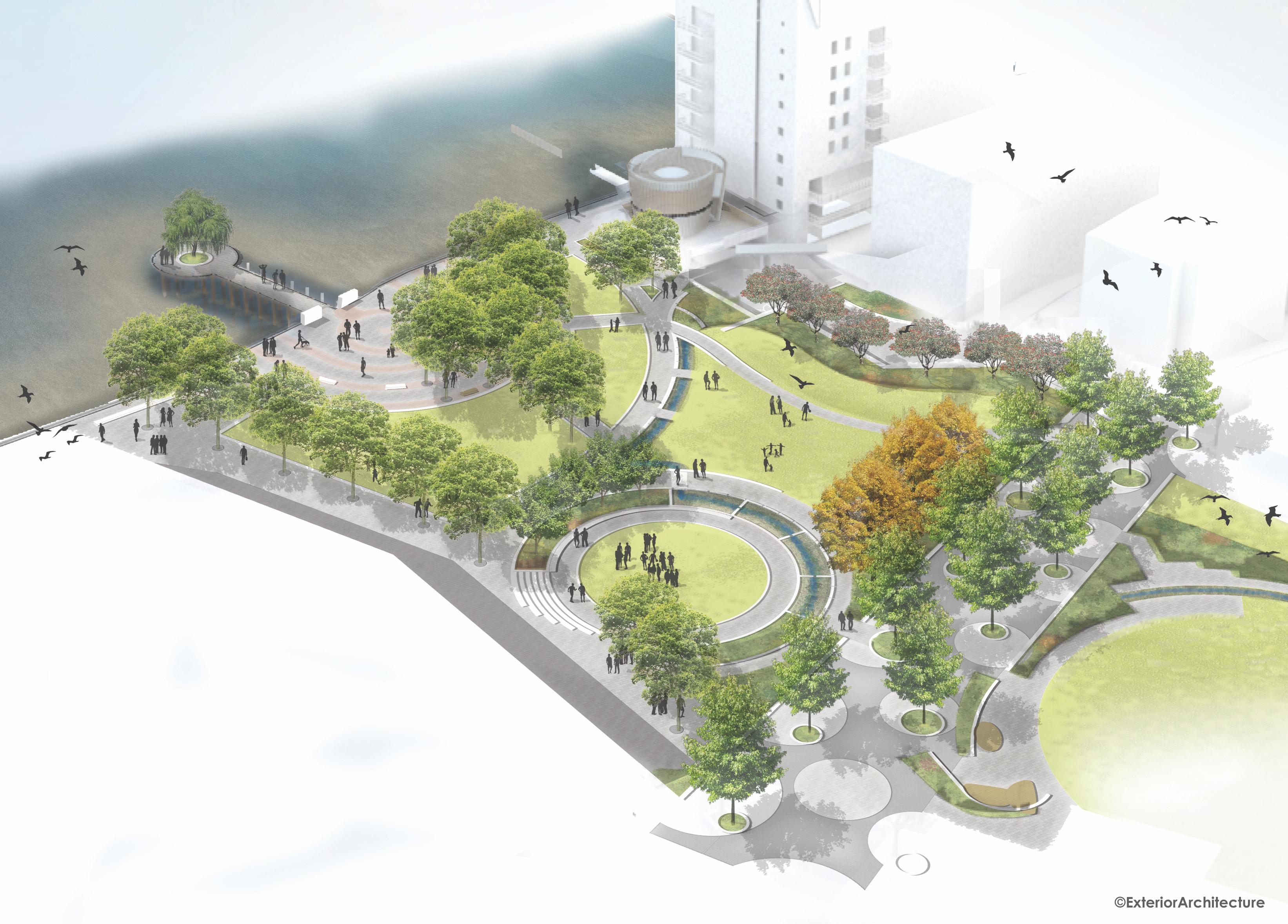Bernie Spain Gardens – Public Presentation